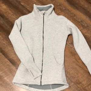 Soft workout jacket